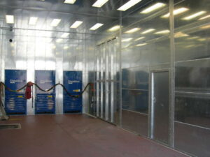 Blast Booth Dust Collection