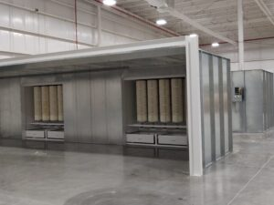 Powder Coating Booth for sale
