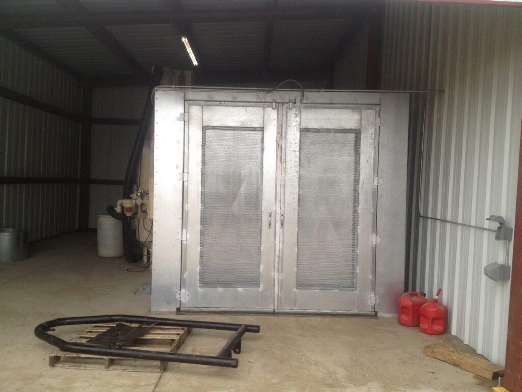 Abrasive Blast Booths