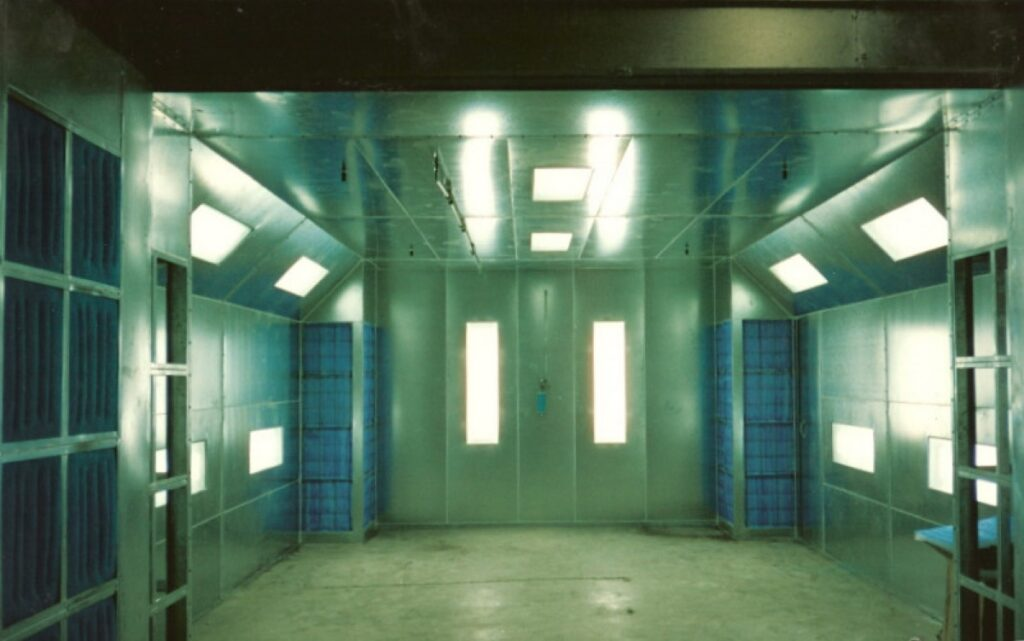 Automotive Crossflow Spray Paint Booths