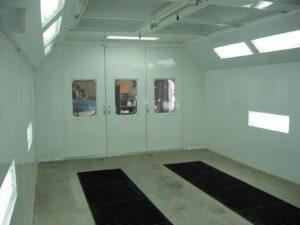 Automotive Downdraft Spray Paint Booths