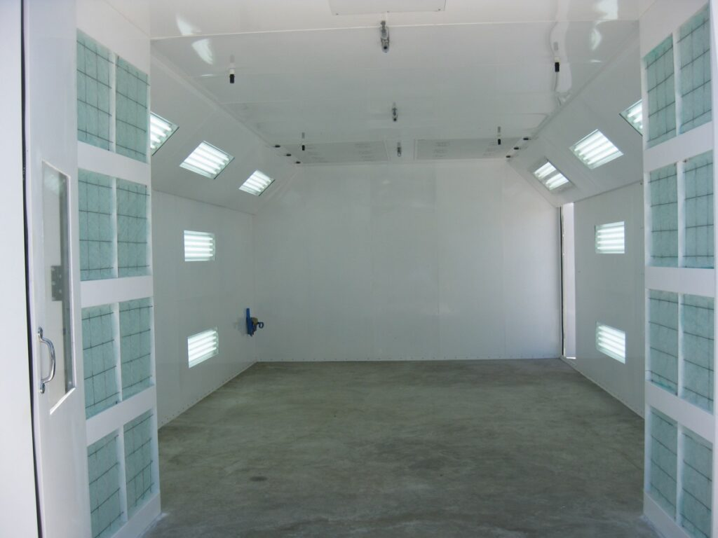 Automotive Semi Downdraft Spray Paint Booths