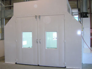 Automotive Side Downdraft Spray Paint Booths