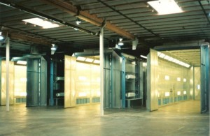 Side Downdraft Paint Booths